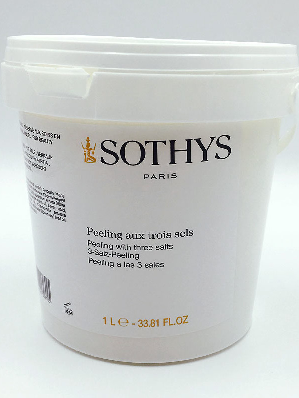 Gamme Corps Silhouette Peeling aux 3 sels 1 l