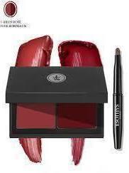 Palette duo lèvres N°10 Brun rosé & Rouge Bordeaux